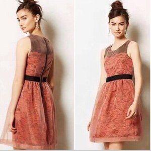 Lili's Closet anthro FRATTINA Lace Dress STUNNING